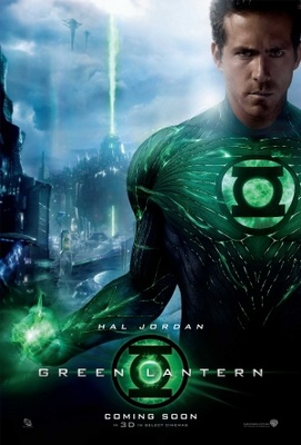 Green Lantern movie poster (2011) poster MOV_8d40548d