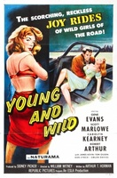 Young and Wild movie poster (1958) picture MOV_8d410d60