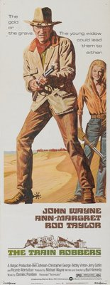 The Train Robbers movie poster (1973) poster MOV_8d46ffb3