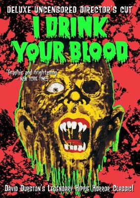 I Drink Your Blood movie poster (1970) poster MOV_8d69e63a