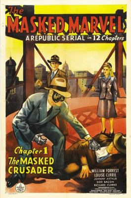 The Masked Marvel movie poster (1943) poster MOV_8d7009ec