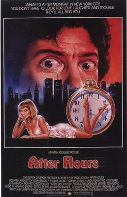 After Hours movie poster (1985) poster MOV_8d84ef55