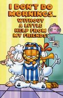 Garfield and Friends movie poster (1988) picture MOV_8d90237a