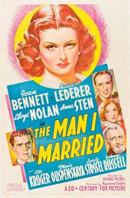 The Man I Married movie poster (1940) poster MOV_8dac24b5