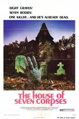 The House of Seven Corpses movie poster (1974) poster MOV_8dae8b72