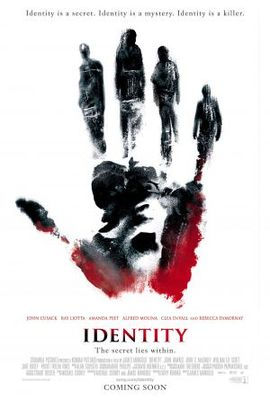 Identity movie poster (2003) poster MOV_8dc1d9e4