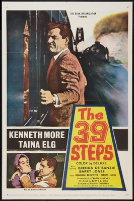 The 39 Steps movie poster (1959) poster MOV_8dc8df5d