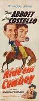 Ride 'Em Cowboy movie poster (1942) picture MOV_8dce9e57