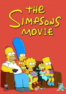 The Simpsons Movie movie poster (2007) poster MOV_8df445b8