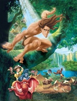 Tarzan movie poster (1999) picture MOV_8dfc87fc