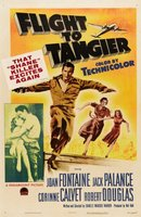 Flight to Tangier movie poster (1953) picture MOV_8e026c49