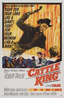 Cattle King movie poster (1963) poster MOV_8e05fce8