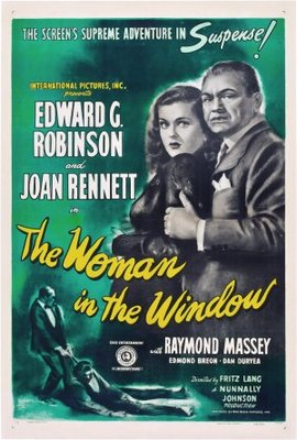 The Woman in the Window movie poster (1945) poster MOV_8e06cfee