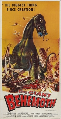 Behemoth, the Sea Monster movie poster (1959) poster MOV_8e0ff1c6