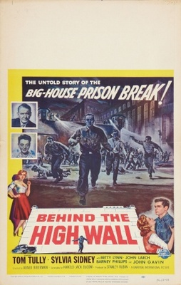 Behind the High Wall movie poster (1956) poster MOV_8e190a2c