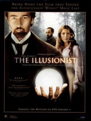 The Illusionist movie poster (2006) poster MOV_8e22892c