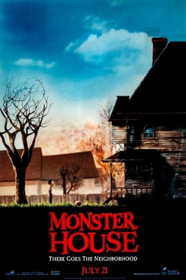 Monster House movie poster (2006) poster MOV_8e237be7