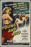 Young and Wild movie poster (1958) picture MOV_8e2518fa