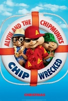Alvin and the Chipmunks: Chip-Wrecked movie poster (2011) picture MOV_3c39088a