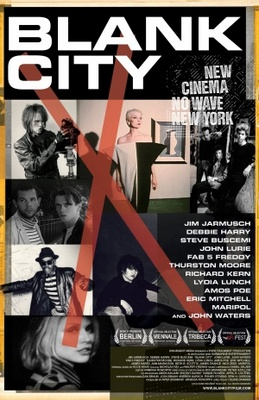 Blank City movie poster (2009) poster MOV_8e3df94a