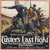 Custer's Last Raid movie poster (1912) picture MOV_8e4619ee