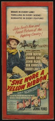 She Wore a Yellow Ribbon movie poster (1949) poster MOV_8e4ba00b