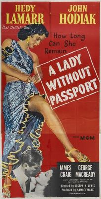 A Lady Without Passport movie poster (1950) poster MOV_8e4df093