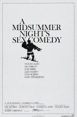 A Midsummer Night's Sex Comedy movie poster (1982) poster MOV_8e6f8f61