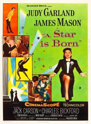 A Star Is Born movie poster (1954) poster MOV_8e9aa2a8