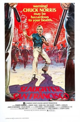Slaughter In San Francisco movie poster (1974) poster MOV_8eba3448