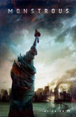 Cloverfield movie poster (2008) poster MOV_8ec682f0