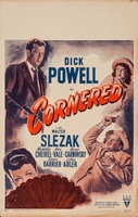 Cornered movie poster (1945) picture MOV_8ed29a2c
