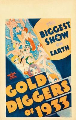 Gold Diggers of 1933 movie poster (1933) poster MOV_8ed7455c