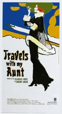 Travels with My Aunt movie poster (1972) poster MOV_8ee04dc8