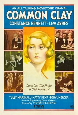 Common Clay movie poster (1930) poster MOV_8effc960