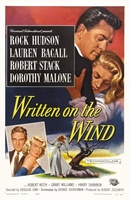 Written on the Wind movie poster (1956) picture MOV_8f369031