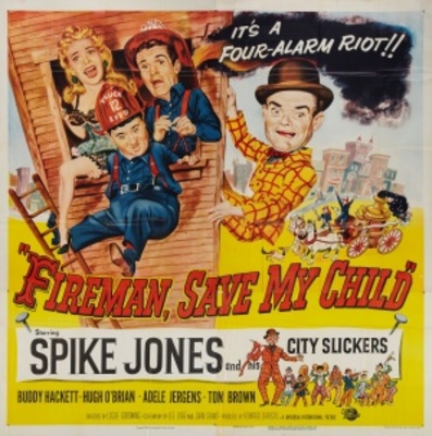 Fireman Save My Child movie poster (1954) poster MOV_8f5c835f