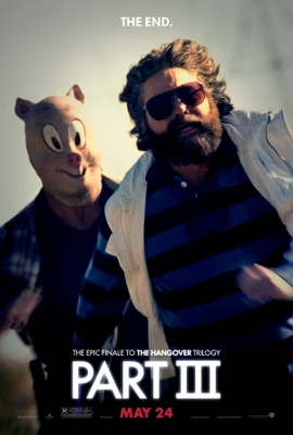 The Hangover Part III movie poster (2013) poster MOV_8f704bf5