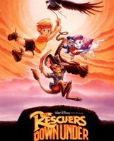 The Rescuers Down Under movie poster (1990) picture MOV_8f889f79