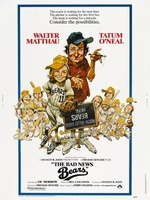 The Bad News Bears movie poster (1976) picture MOV_8f95d834