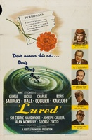 Lured movie poster (1947) picture MOV_8f9c01f4