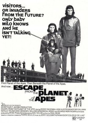 Escape from the Planet of the Apes movie poster (1971) poster MOV_8f9f0185