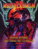 Mortal Kombat II movie poster (1993) picture MOV_8faddaca