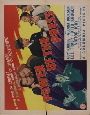 Power of the Press movie poster (1943) poster MOV_8fc540ab