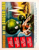 Invasion of the Saucer Men movie poster (1957) picture MOV_8fc6a7fb