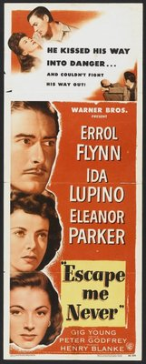 Escape Me Never movie poster (1947) poster MOV_8fe4f73d