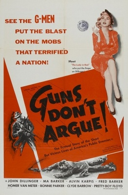 Guns Don't Argue movie poster (1957) poster MOV_8feaeb0d
