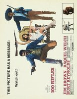 100 Rifles movie poster (1969) picture MOV_900ca381