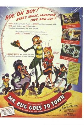 Mr. Bug Goes to Town movie poster (1941) poster MOV_901a11e8