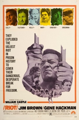 Riot movie poster (1969) poster MOV_90693659